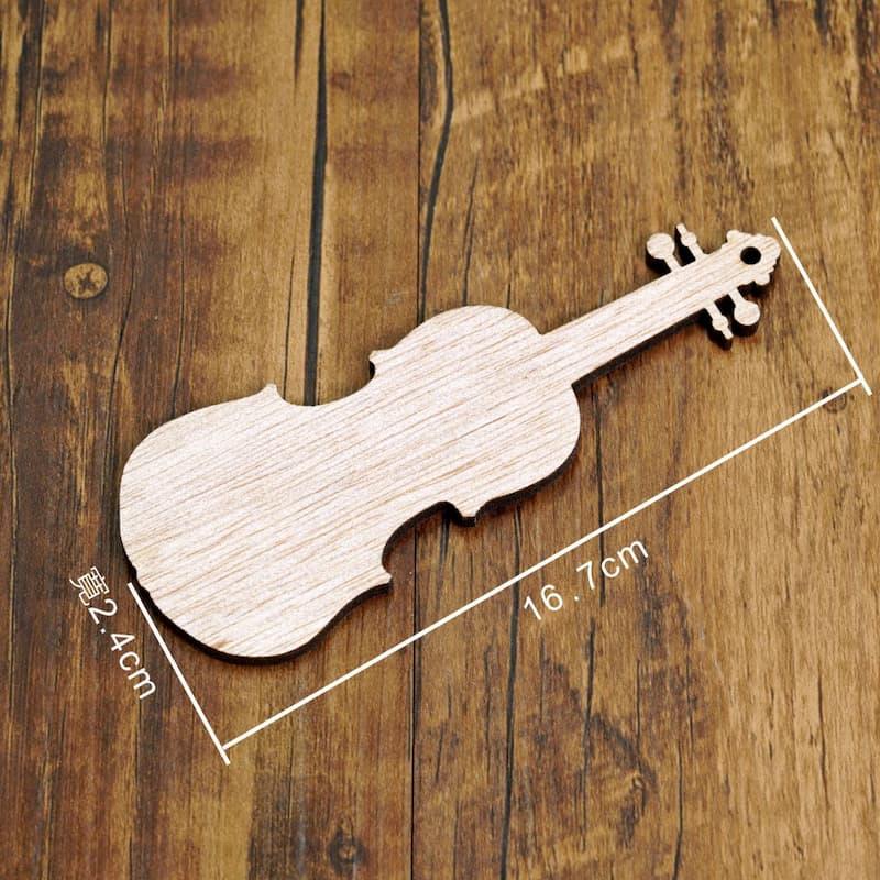 小提琴DIY木片