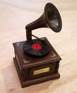 古典唱片機音樂盒