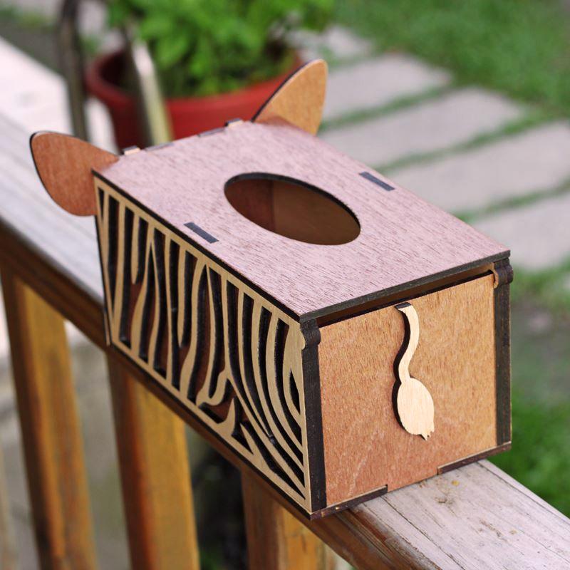 斑馬面紙盒