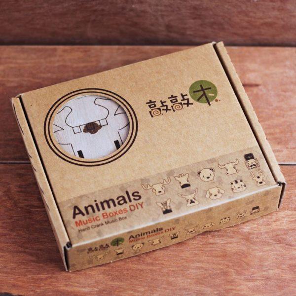 動物音樂盒包裝
