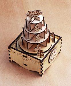 DIY Birthday Music Box