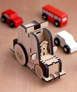 Police Car music box kits