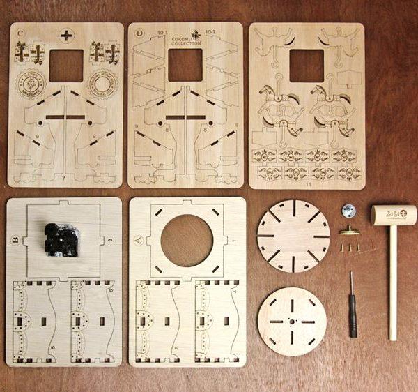 旋轉木馬音樂盒零件