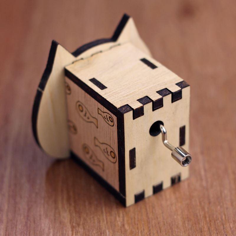 diy music box cat